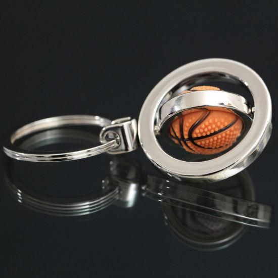 2020 Newest Custom Logo Rotating Ball Keychain