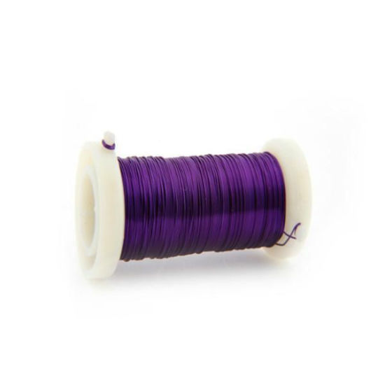 Amazon Purple Color 0.3mm Iron Florist Wire From China Factory pictures & photos