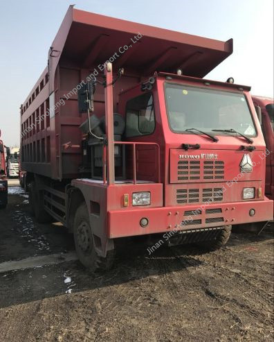 China Hova Dump Truck for Mining Area Tipper Truck pictures & photos