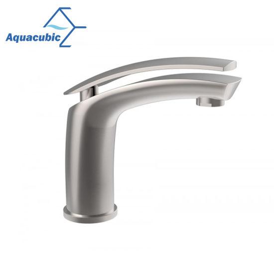 New Design Bathroom Brass Wash Basin Faucet (AF1280-6)