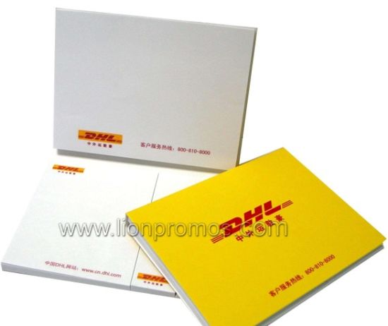 DHL Airline Promotional Mini Pocket Memo Pad