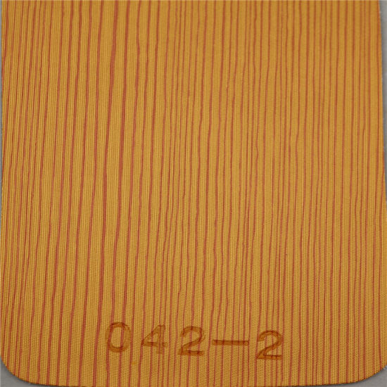Smooth Surface Furniture Leather PU Leather (Hongjiu-HS042#) pictures & photos