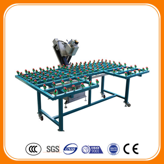 High Work Efficiency Water Type Belt Glass Machine for Glass Grinding