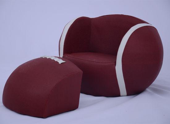 Basketball Kids Leather Ottoman Sofa/Kids Furniture/Children Chair  (SXBB 180)