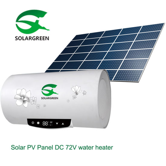 Highest Level Energy Saving Photo-Voltaic Solar Panel Hot Water Heater