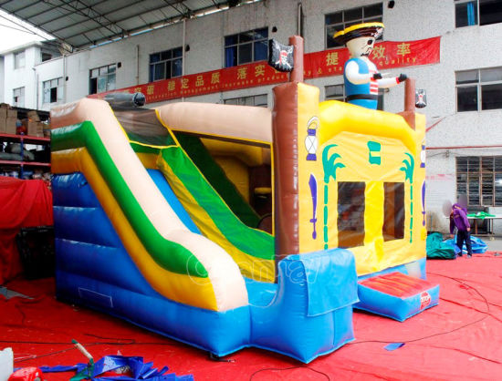 Pirate Inflatable Bounce House Combo for Sale Chb773 pictures & photos