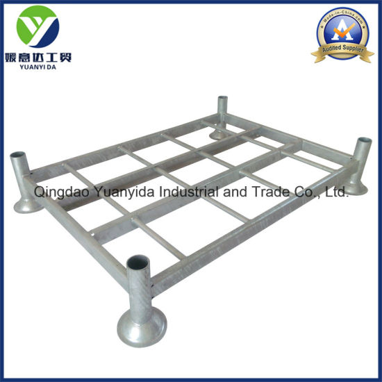 Stackable Heavy Duty Hot Galvanized Industrial Pallet Rack pictures & photos