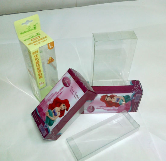Competitive China Manufacturer PVC/PP/PET Plastic Custom Packaging Box(folding box)
