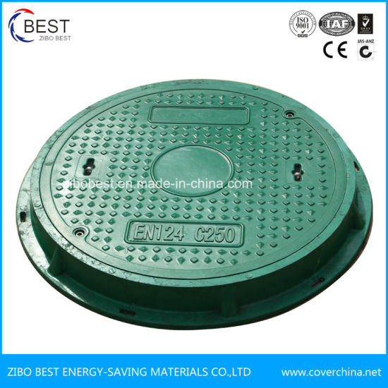 A15 Round En124 SMC Composite Sewer Manhole Cover pictures & photos