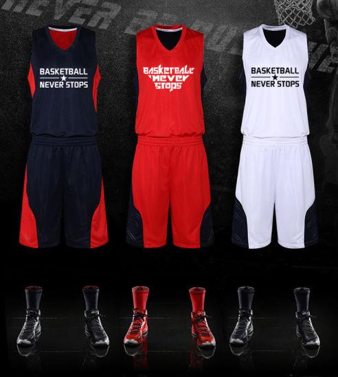 Guangzhou Manufacturer OEM Factory Customized Basketball Set Sport Tracksuit Cheap Sale