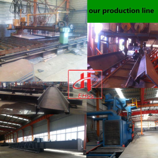 Prefabricated Large Span Industrial Structure Steel pictures & photos