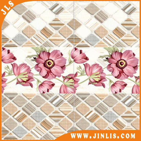 China 300X600mm Living Room Use Pink Gloosy Ceramic Wall Tiles ...