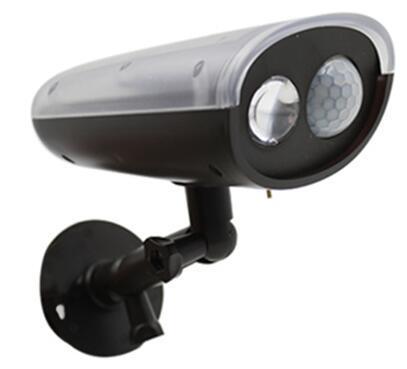 Outdoor Lighting Solar Powered Motion Sensor Light 300 Lm Weatherproof Wireless LED Ultra Bright Spotlight with Multi Installation Ways (1119A)
