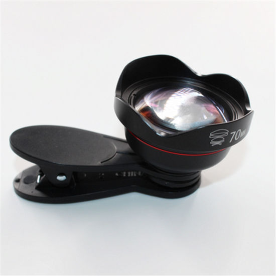 China Focal Length 70mm Distortion-Free Telephoto Lens Phone Lens