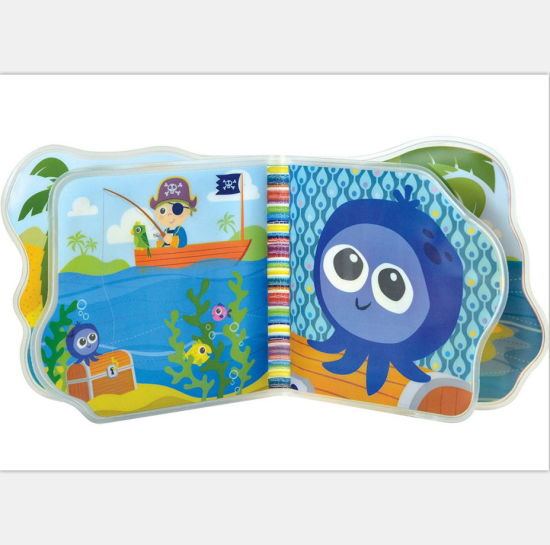China Cute Waterproof Baby Bath Book Play Soft Plastic Book for Kids ...