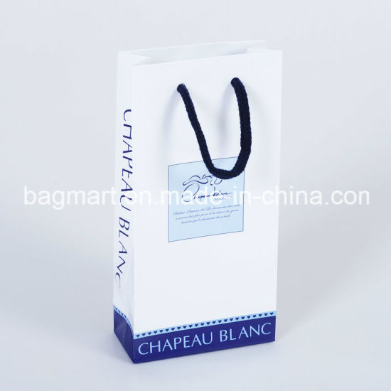 Coated Paper Bag, Shopping Bag for Cothes/Garment/Gift