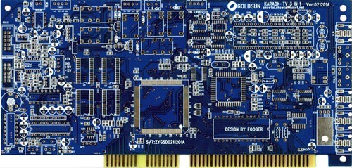 Gold Finger Circuit Board with Fr4 Material PCB Manufacturer