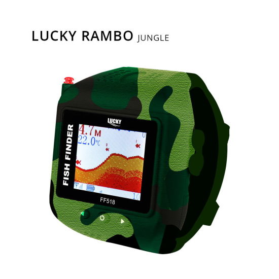 Lucky Watch Fish Finder for Carp Bait Boat Fishing