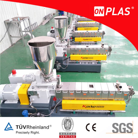 Plastic Extruder Double/Twin Screw Extruder for Sale