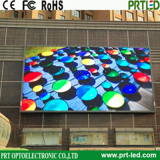 High Brightness Outdoor LED Display, Full Color Video Wall, Advertising LED Display Screen (P6, P8, P10)