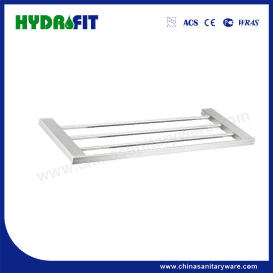 S. S304 Good Quality Brushed Towel Shelf (BAS3498/3498-1)