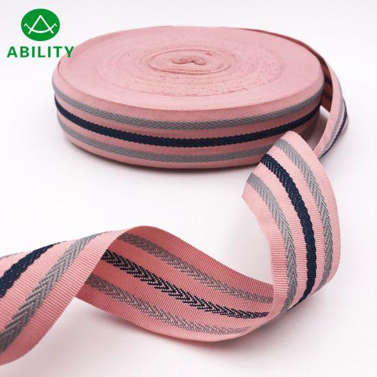 2019 Customized Good Quality Beautifull New Style Webbing Tape Ribbon Woven Tape