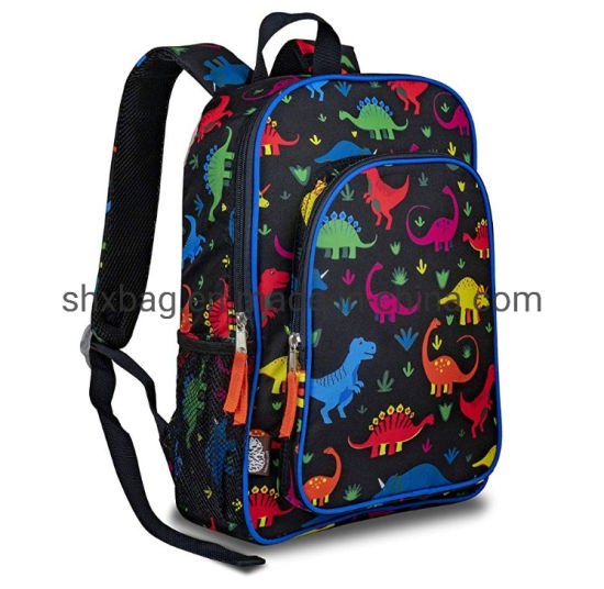 Hot cute boy girl unisex dinosaur design backpack kids school cartoon bag