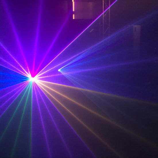 Full Color 2W High Speed Animation RGB Beam Laser Light for Sale