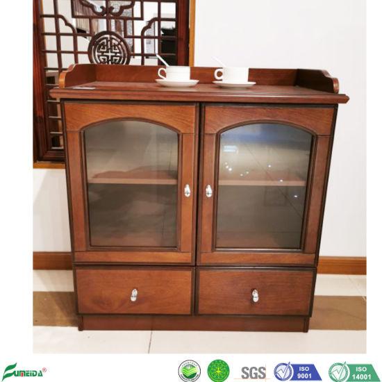 China 2 Doors Wooden Furniture Verner, Short China Cabinet