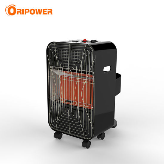 Portable Mini Indoor Black White Color Infrared Gas Heater