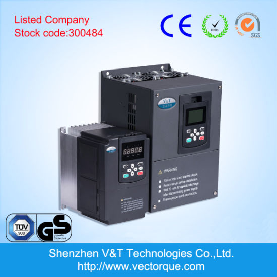 V&T V9 0.75kw-650kw Modbus 485 Communication Remote Control AC Drive/VFD/VSD/Frequency Inverter pictures & photos