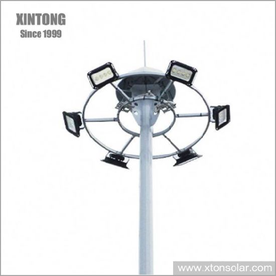 China 35m Steel High Mast Lighting
