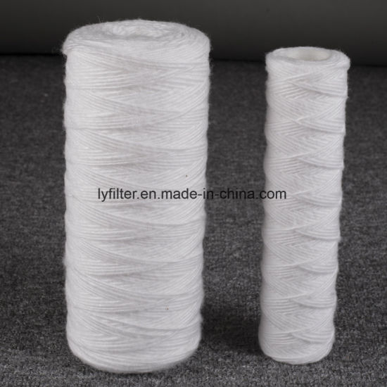PP Cotton PP Yarn String Wound Water Filter Cartridges