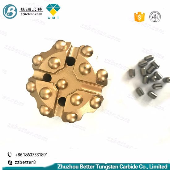 China T45 Tapered Button Bits/Thread Button Bit/Drill Bits