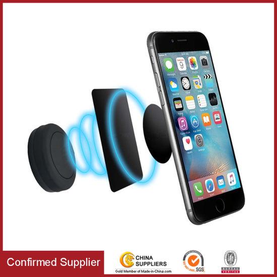 Universal Flat Sitck-on Dashboard Phone Holder Magnetic Car Mount