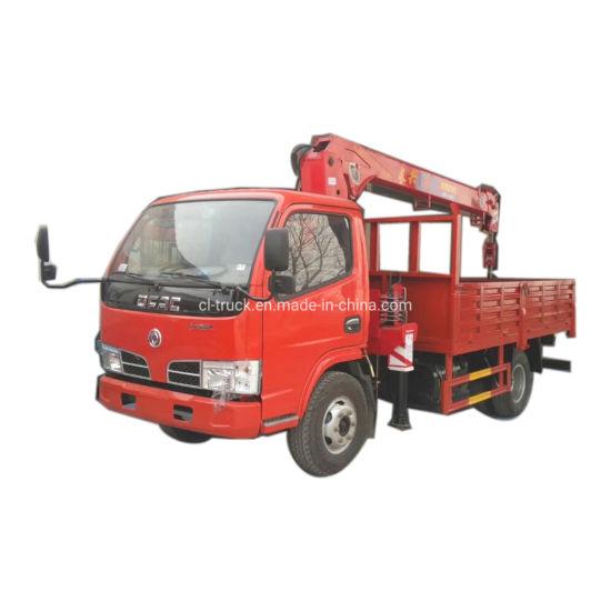 Dongfeng Mini Rhd LHD Truck Mounted 2tons 3tons Crane