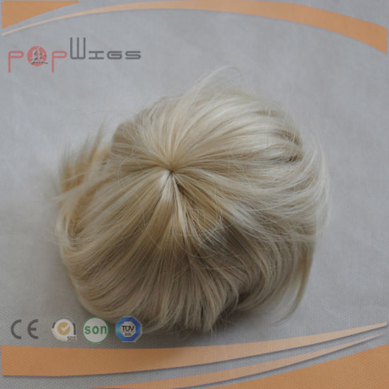 Synthetic Fiber Short Hair Bun Wig (PPG-l-01581) pictures & photos