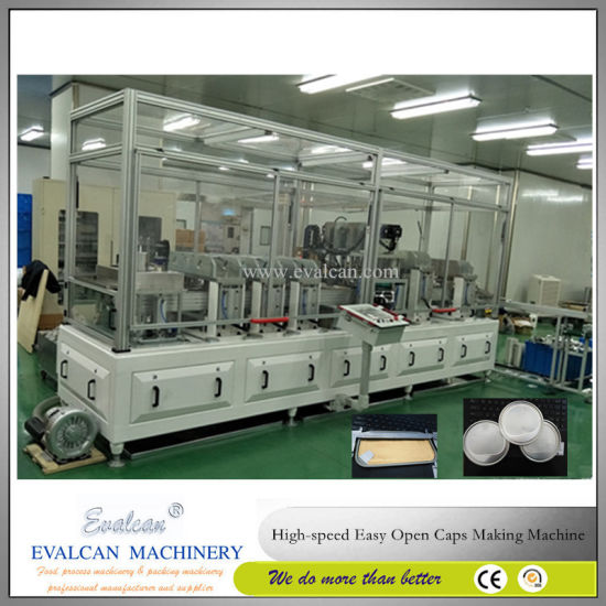 Easy Tear Meat, Fish Can Ends Making Machine pictures & photos