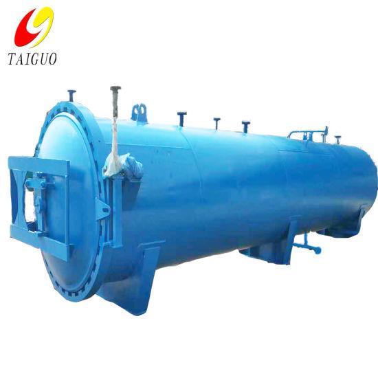 Timber Machine Pressure Vessel Wood Treatment Vacuum Impregnation Autoclave