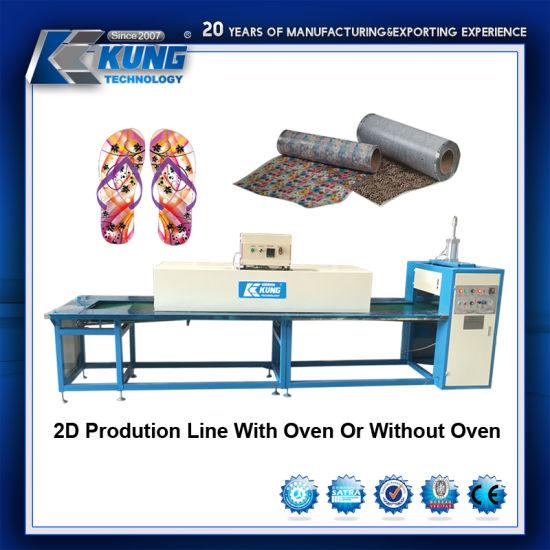 2d Film Transfer Printing Machine Production Line 1 5m 85m 4