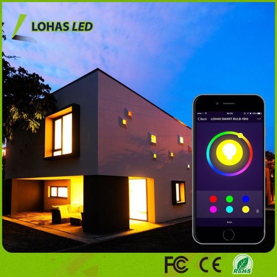 Long Distance Controlled WiFi Smart LED Light Bulb Work with Tuya APP/Amazon Alexa/Google Home RGBW LED Bulb pictures & photos