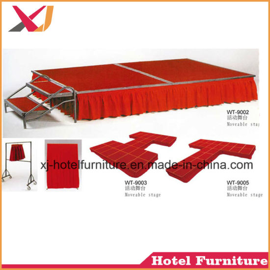 Folding Mobile Dance Stage for Outdoor/Wedding/Restaurant/Banquet/Hotel/Party/Show pictures & photos