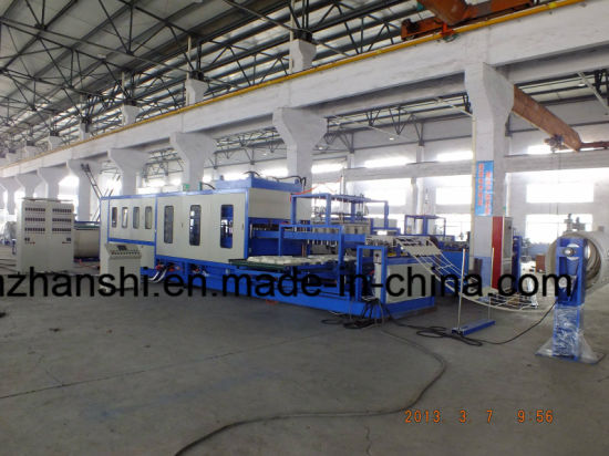 PS Foam Vacuum Forming Machine pictures & photos