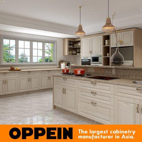 modular cabinet furniture. White And Wood Grain PVC Membrane Modular Kitchen Cabinet Furniture Cupboard (OP17-PVC03) R