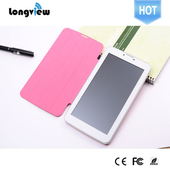 Longview High Quality Tablets 7' Inch Quad Core Tablet Phone with GPS Bluetooth FM