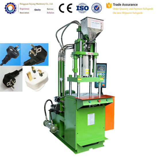 Hot Sale and High Quality Small Vertical Injection Molding Machine for Plugs