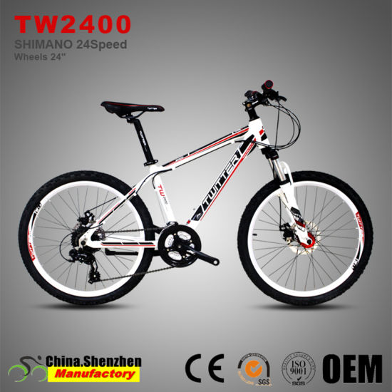 China 24er 24speed Mountian Bike Bicycle with 13.5inch Aluminum ...