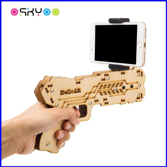 Augmented Reality Ar Game Electric Toy Gun for Smartphone pictures & photos
