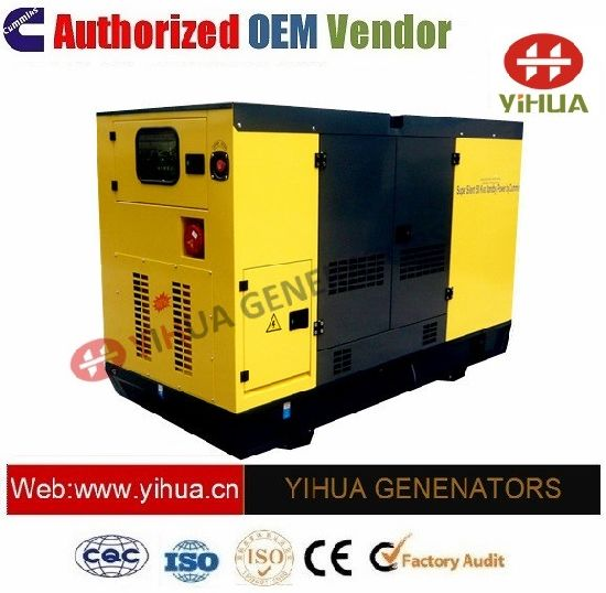 37.5kVA Electric Generator with Cummins Diesel Engine[20171017a']