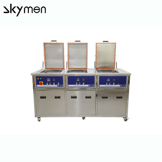 Multi Stage/Tank/Chamber Industrial Ultrasonic Cleaner/Cleaning System/Cleaning Machine for Metal Parts Washing
